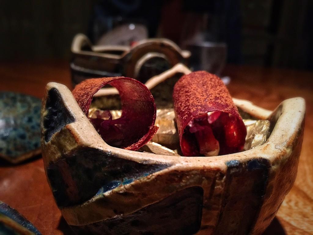 #05: Tesouro: anchovas com cacao. Isso mesmo! E olha que combinou!