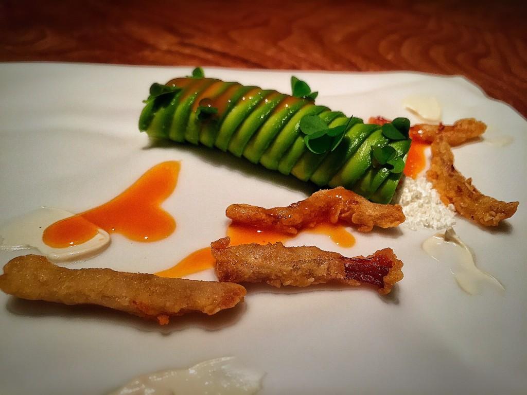 Ceviche de avocado com champignons - refrescante, leve, super delicioso! AMEI.