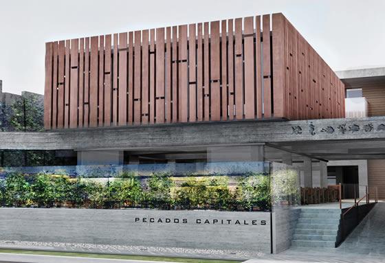 A fachada do restaurante Pescados Capitales (Fonte: Solida)