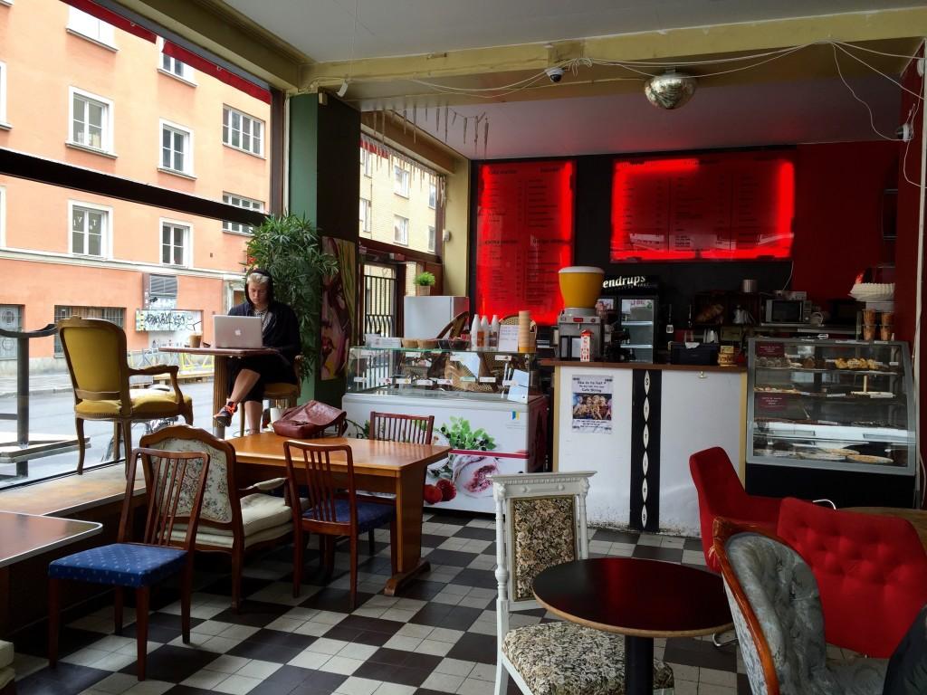 Café String em Södermalm