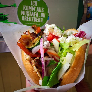 o famoso doner kebab