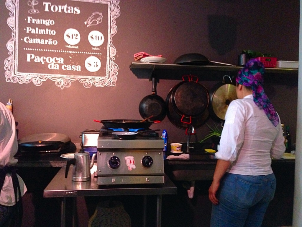Conceição Discos e a Chef Talitha Barros