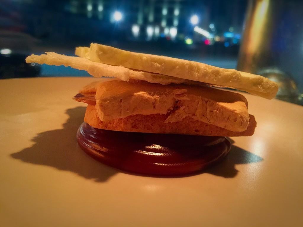 Salted wasabi cream toffee (90 DKK)
