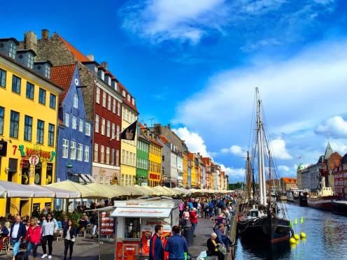 Nyhavn - todo colorido, todo lindo!