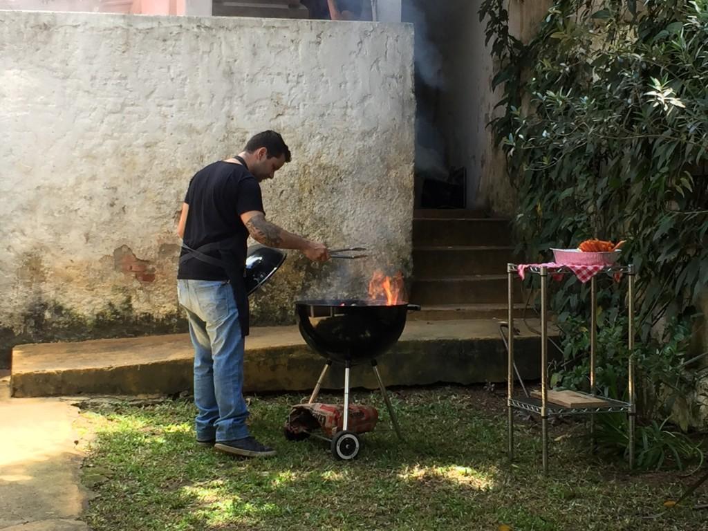 Chef Rodrigo Ribeiro em ação!