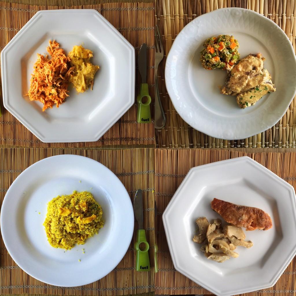 Alguns dos pratos que provamos do Magrelletes :)