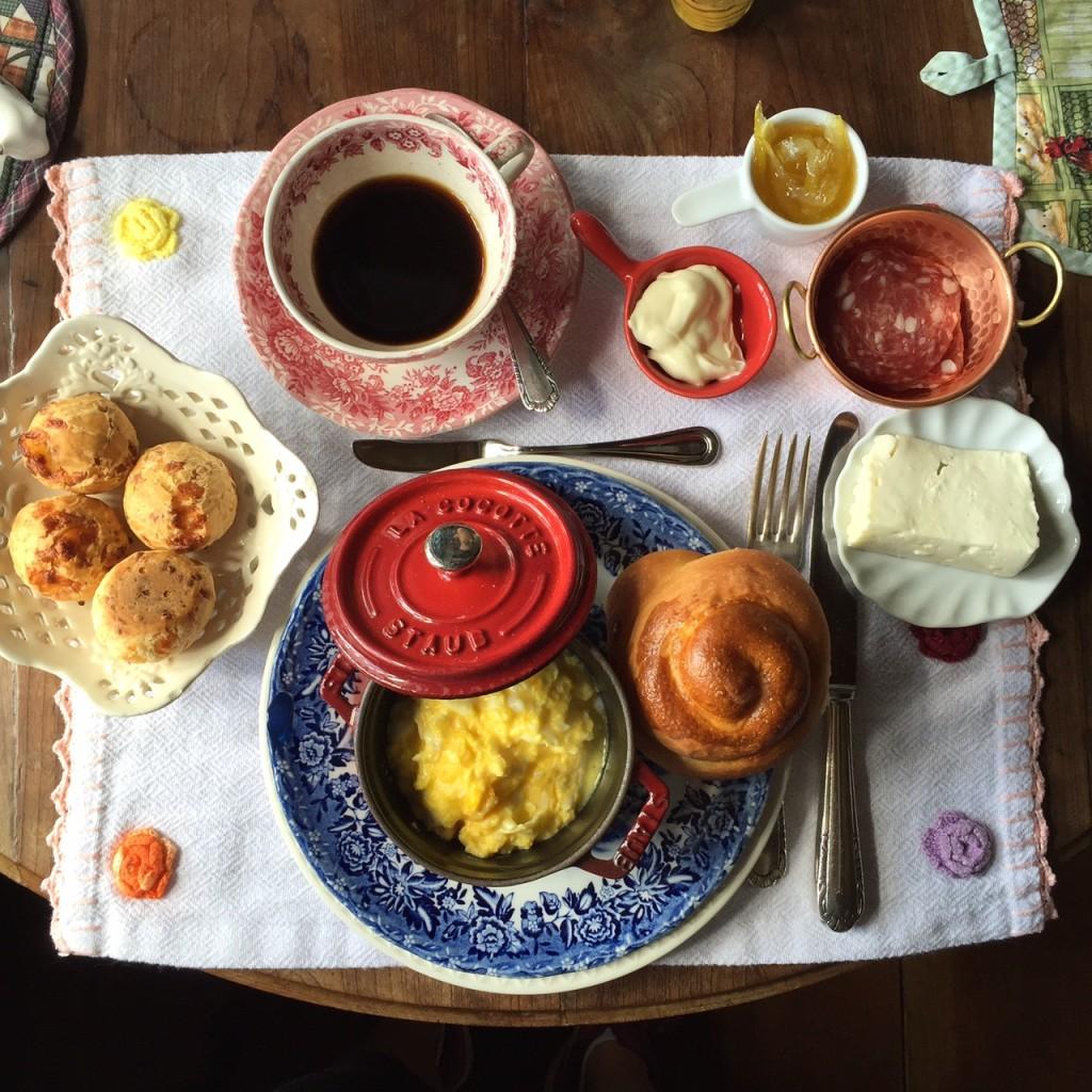 café da manhã mais delicioso impossível!
