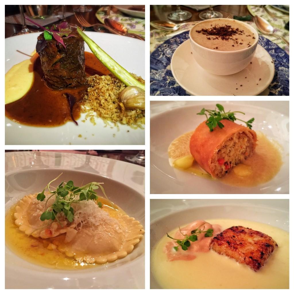 Os 5 pratos da noite!