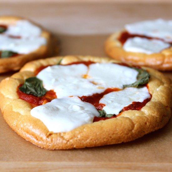 Pizza com Cloud Bread (Fonte: Recipe's Hubs)