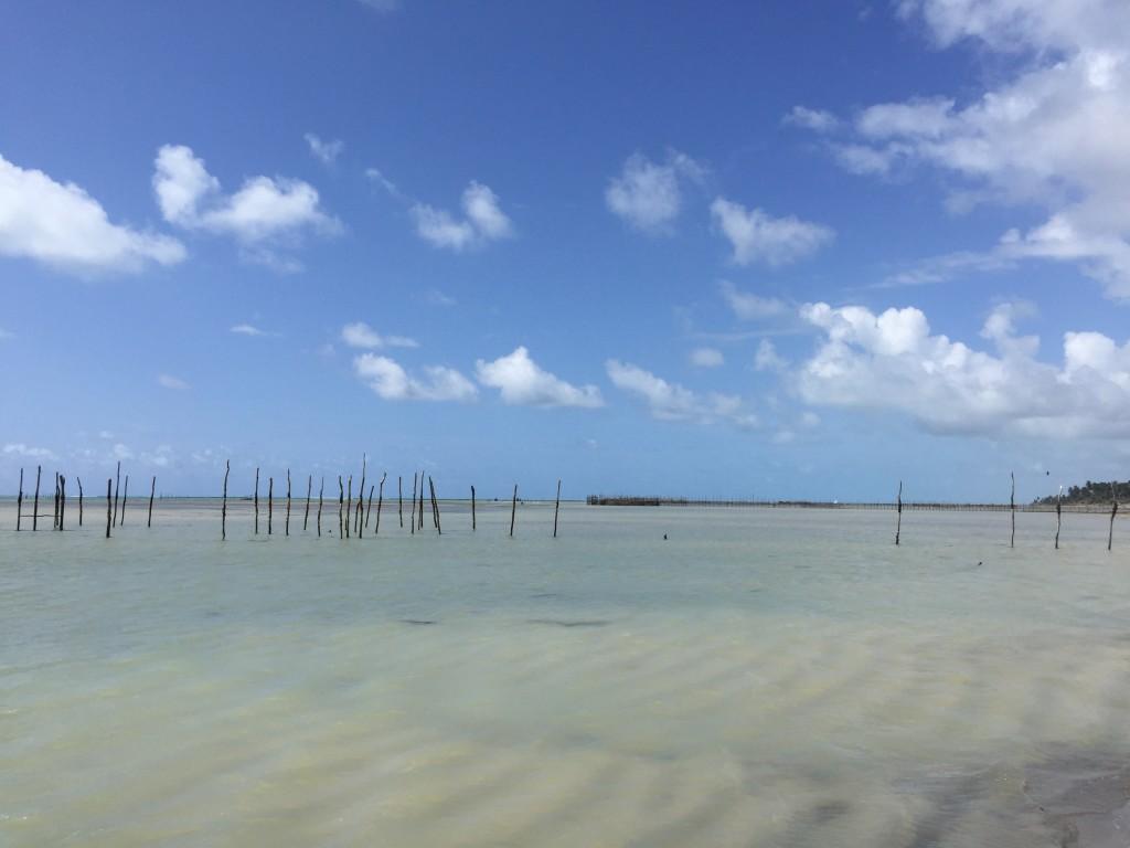 Praia do Toque - linda e vazia