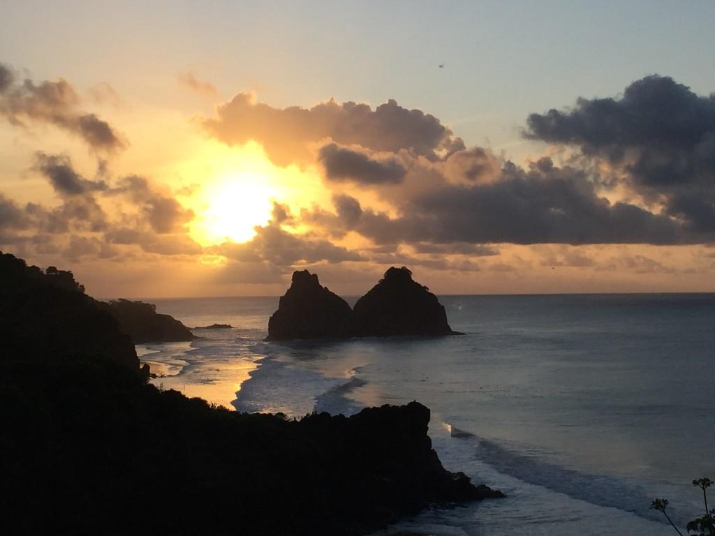 Pôr do Sol maravilhoso!