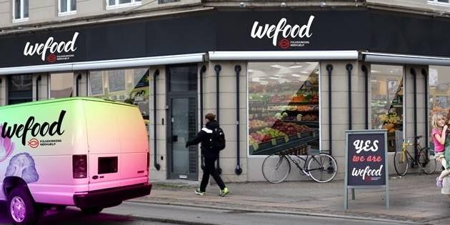 Fachada do supermercado WeFood (Fonte: Mariana Kalil)