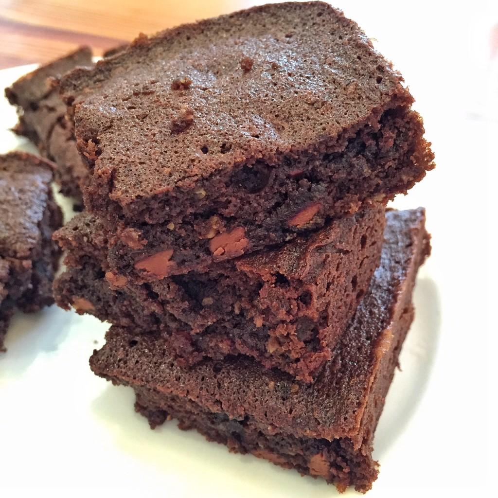 brownies prontinhos...