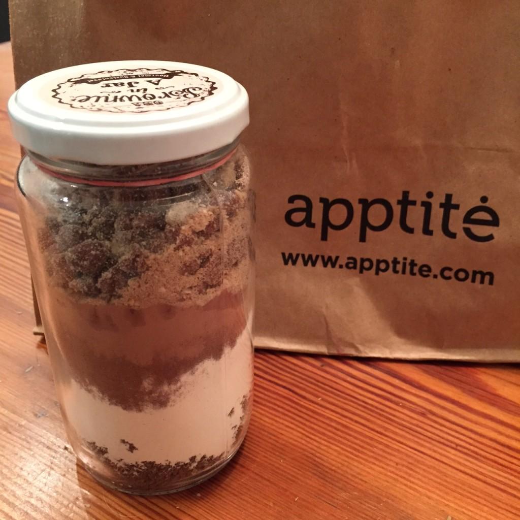"""""""Brownie in a Jar"""" da chef Luciana"""
