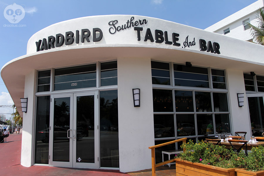 Fachada do Yardbird Table & Bar (Fonte: Droolus)