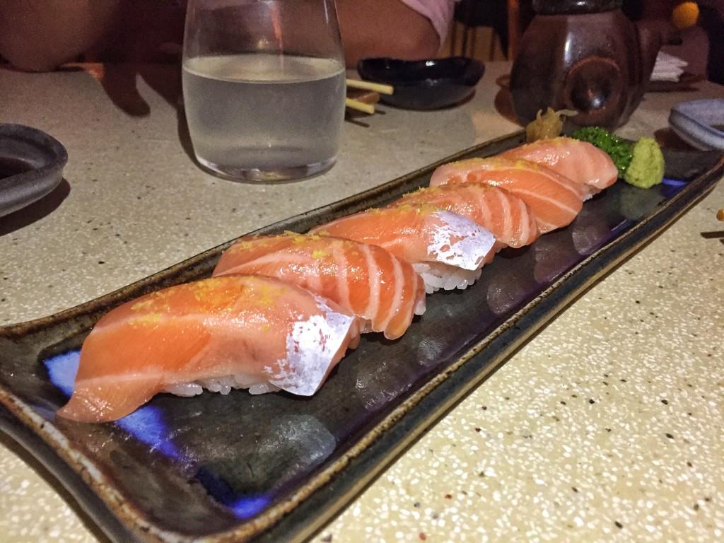 Barriga de salmão