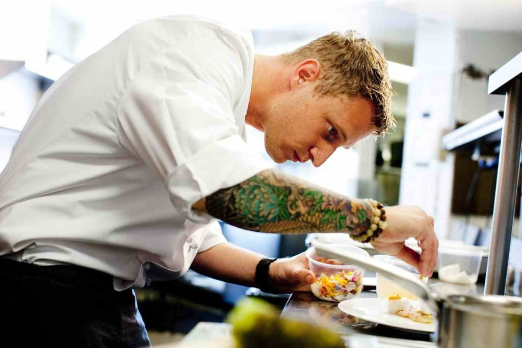 Michael Voltaggio, chef do ink. e vencedor do Master Top Chef