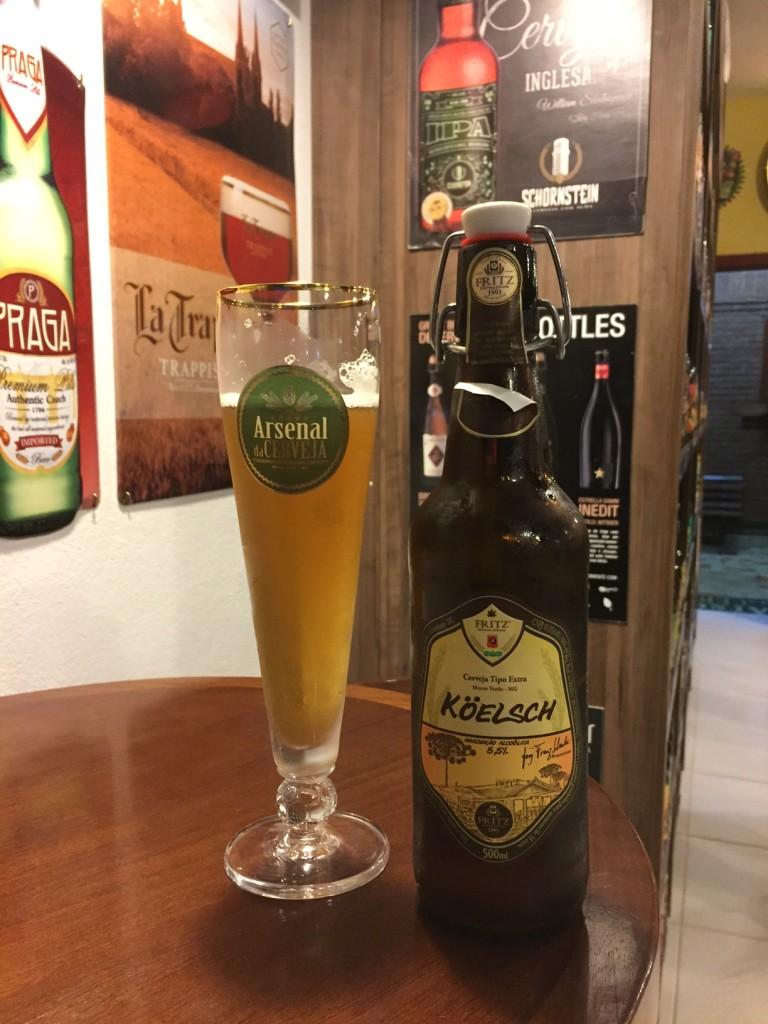 Koelsch da cervejaria Fritz, de Monte Verde